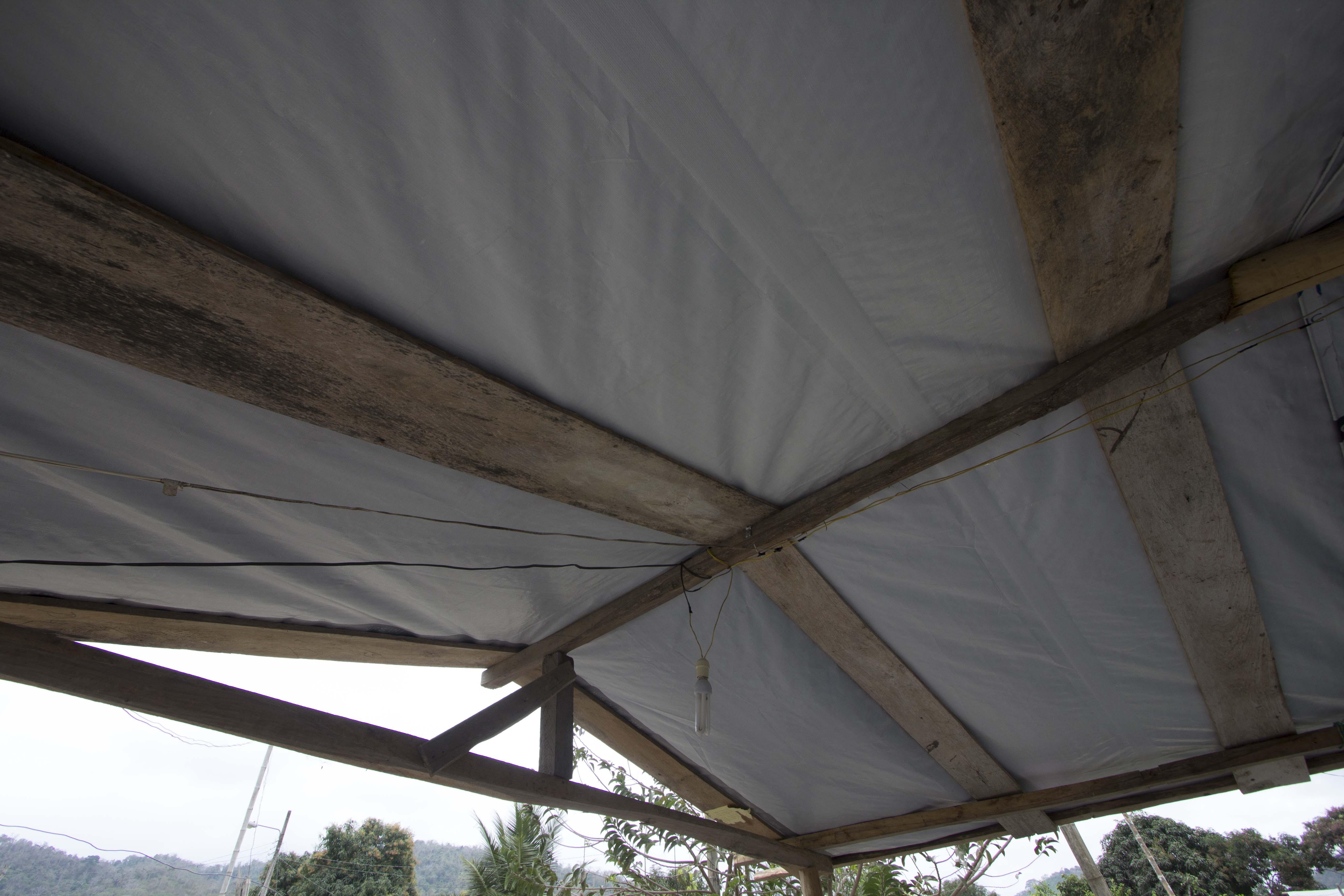 NRS Relief provides tarpaulins at Ecuador in 2016
