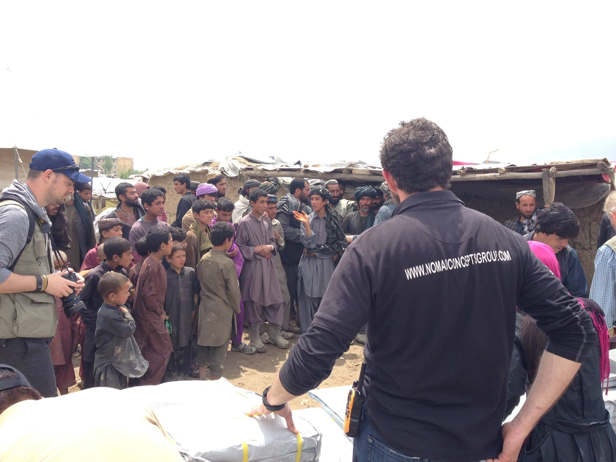 NRS Relief tarpaulin for refugees in Afghanistan 2016