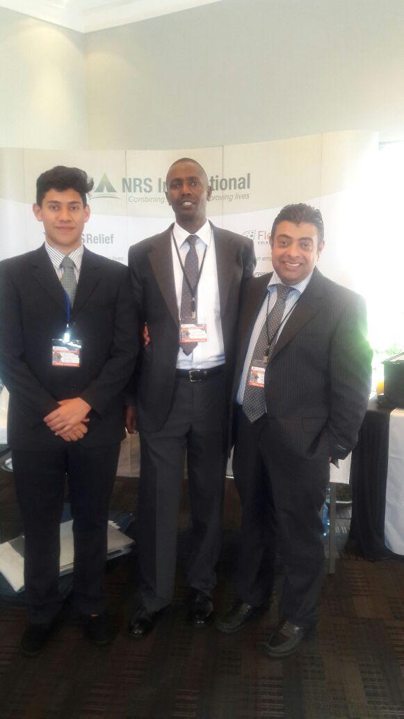 NRS Relief team at Humanitarian Summit Kenya 2016