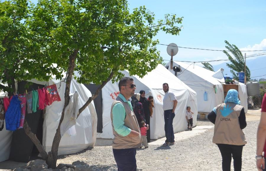 NRS Relief team visit Lebanon 2017
