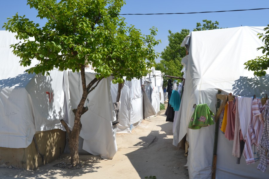 NRS Relief tents at Lebanon in 2017
