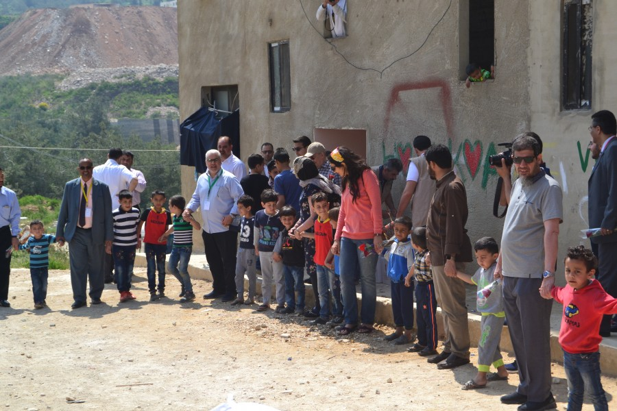 NRS Relief visits informal settlements in Lebanon 2017