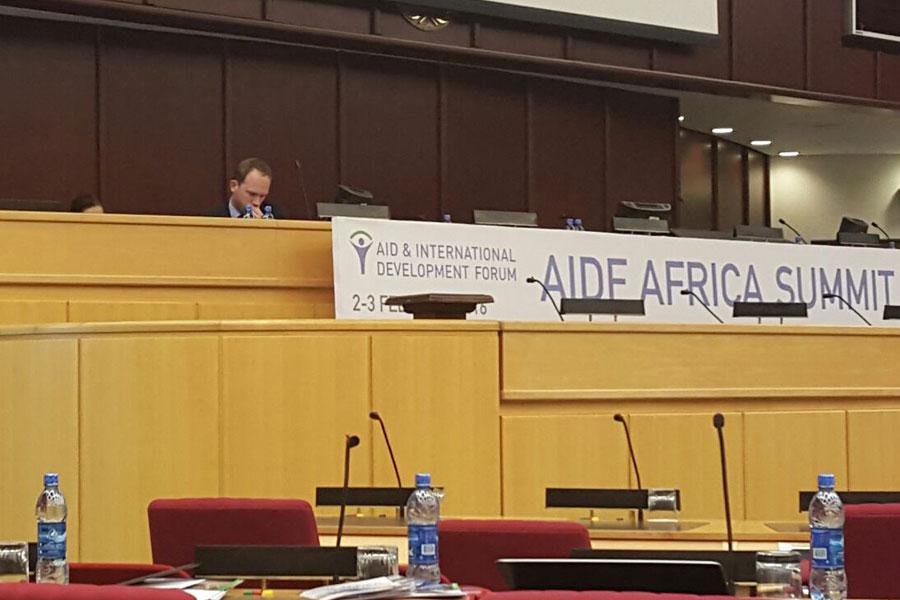sitting area of AIDF Africa Summit 2016
