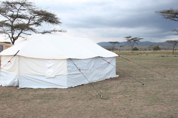 core relief items tent by NRS Relief in Kenya 2015