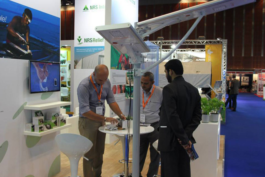 NRS Relief booth at DIHAD 2015