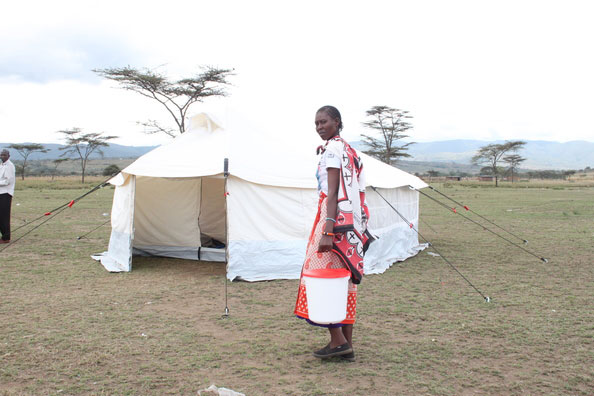 NRS Relief core relief items in use Kenya 2015