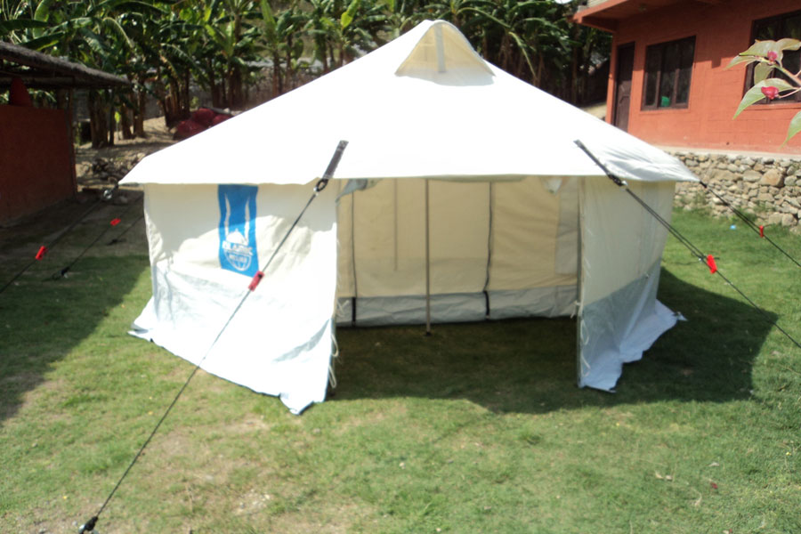 NRS tent used in Nepal