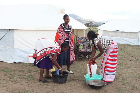 refugee woman in Kenya 2015