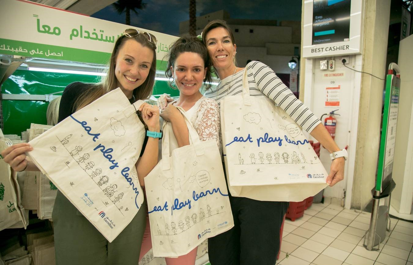 Eat Play Learn bags launched to support children's education