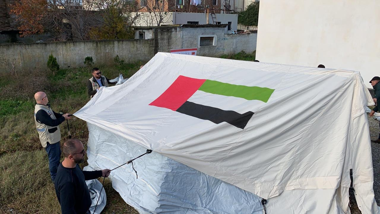 Viva Family Tents serve as temporary homes in earthquake-stricken Albania
