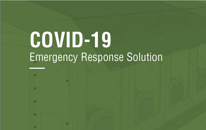 COVID-19 Brochure: Medical tents, treatment cabins, blankets and more available from NRS Relief