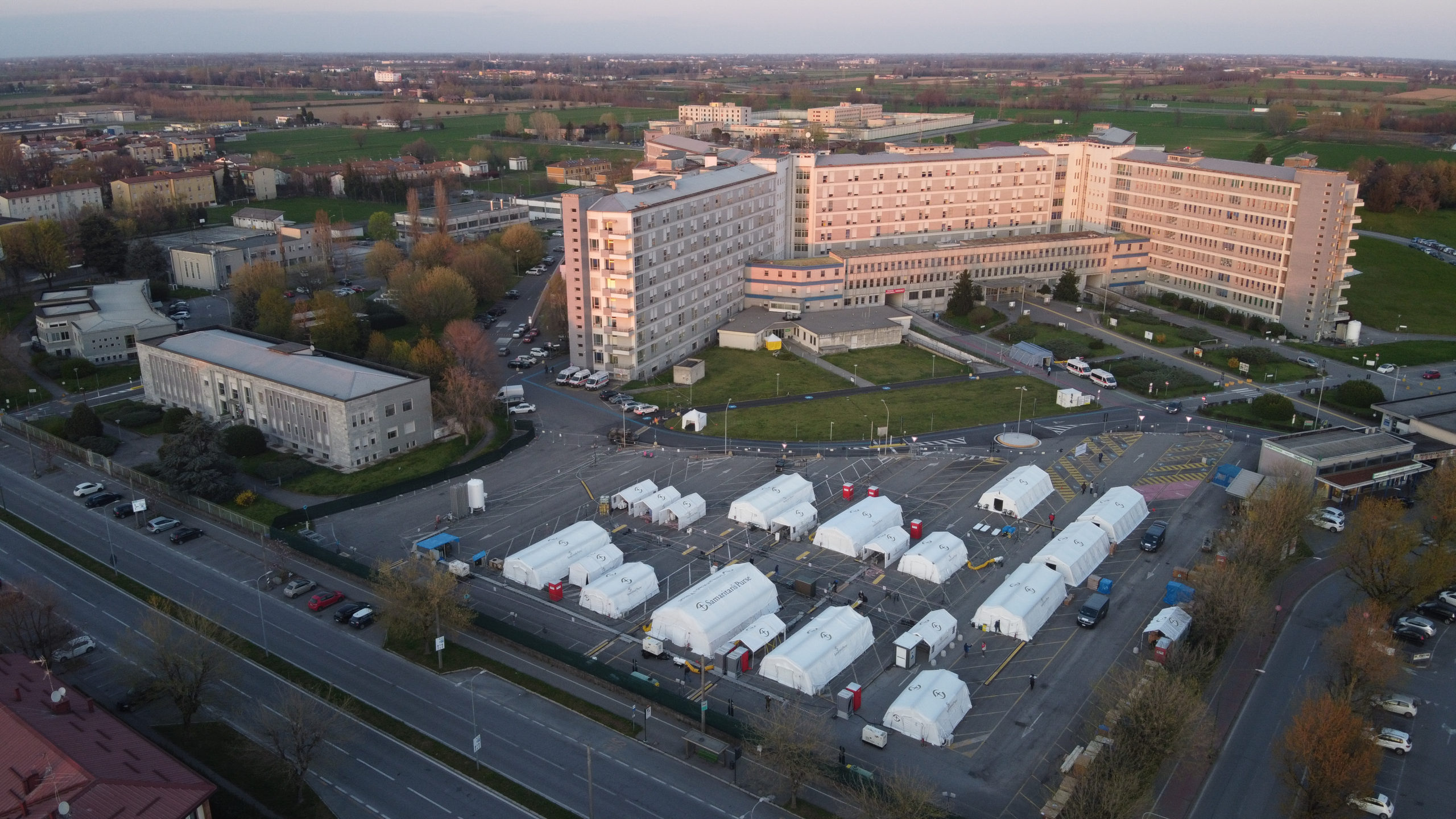 NRS Relief Shelters used in Covid-19 Emergency Response Across the Globe